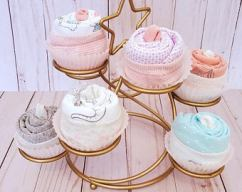 Unique Baby Shower gifts cupcake onesies