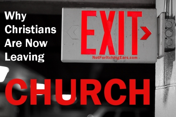 Why Christians are Leaving Church