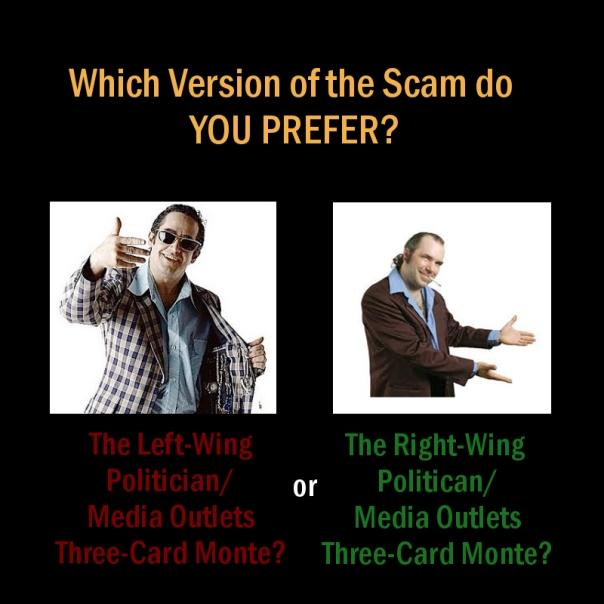 3 card monte street scam