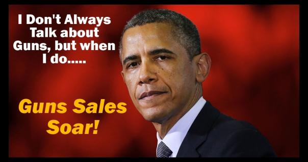 Gun Sales Soar